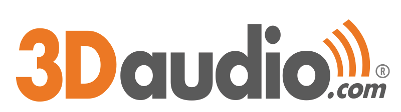Logo Audio 3D